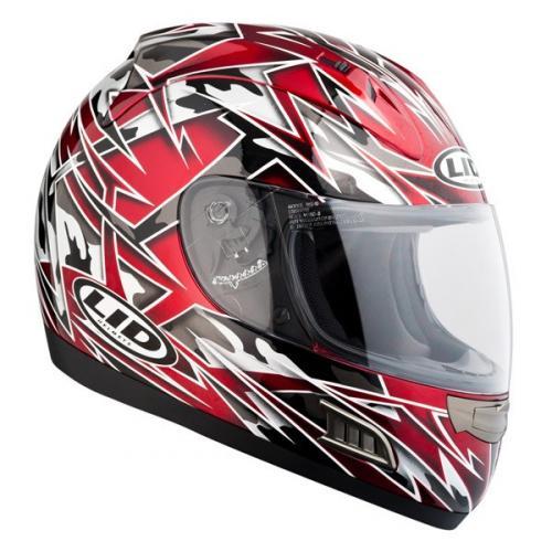 LID Havoc Graphic Red Motorcycle Helmet £19.99 @ Lids Direct