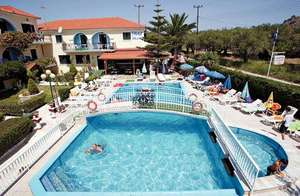 14 Nights Zante Greece £96pp includes flights, luggage and hotel based on 3 sharing @ Thomas Cook