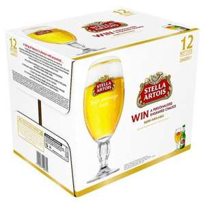 Stella Artois 12 x 284ml Bottles £5 @ ASDA