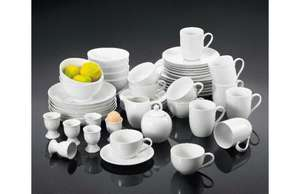50-Piece Dinner Set (RRP £100) - ONLY £36.99!!! [Free P&P] @ Wowcher dinnerwarehouse.com