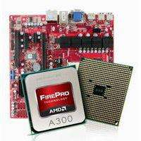 SAPPHIRE PGS A3 M MAINBOARD & AMD Piledriver Firepro A300 APU/CPU Bundle,  Ideal workstation, Server, HTPC, Eyefinity, 8 SATA 6gbs/USB 3.0 65watt TDP. £159.99 Delivered @ eBay / Silverstar Components Ebay