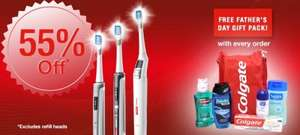 Colgate(R) ProClinical(R) electric toothbrushes better than half price and free gift