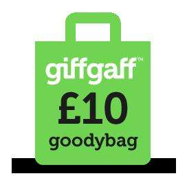 giffgaff £10 goodybag minutes doubled - 500 minutes, unlimited texts and 1GB data - now permanent!