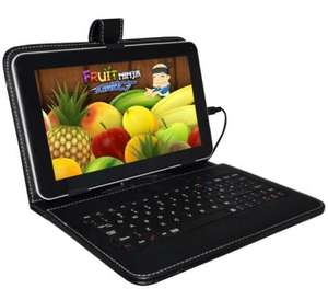 "9"" ALL WINNER A13 CAPACITIVE TOUCH ANDROID 4.0 TABLET PC WITH KEYBOARD BUNDLE  £68.95 @ eBay / universalgadgets01"