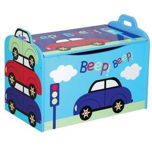 Kids Wooden Toybox £19.99 @ Dunelm mill