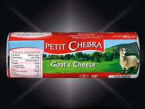 Petit Chebre goat's cheese @ LIDL £1.00