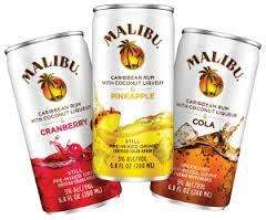 Can of Malibu premixed alcoholic drink - 25p @ Asda with voucher