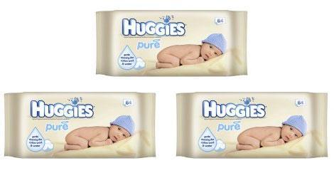 CO-OP Huggies Baby Wipes - Buy 1 get 2 free £2.59