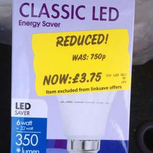 LED Light Bulbs - Asda - £3.75