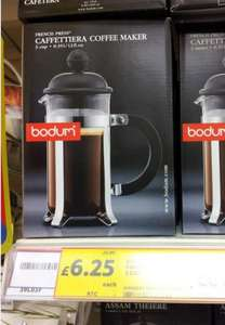 Bodum French Press 3 Cup Caffettiera £6.25 @ Tesco