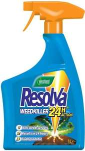 Westland Resolva 24H Ready to Use Weedkiller 1 Litre £2.99 at Home Bargains