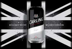 24 cans of Carling for £12 @ Bargain Booze