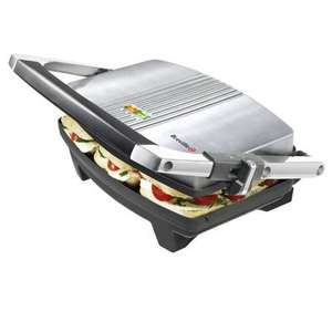 Breville VST025 Stainless Steel Cafe Sandwich Press for £19.99 at Dunelm (Reserve and collect)