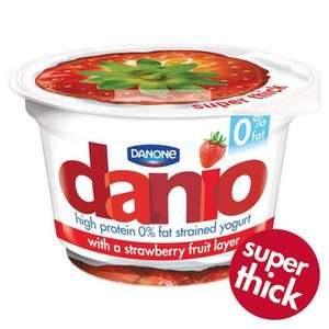 FREE Danio Super Tasty Yoghurt - download coupon with Twitter