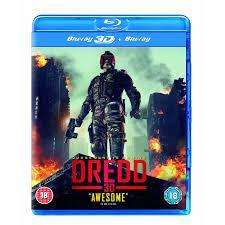Dredd 3D Blu Ray £6.00 @ Sainsbury's Entertainment