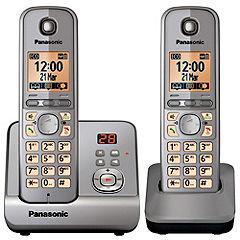 Sainsburys - Panasonic KX-TG 6722 Twin Cordless Phone £24.99 (Save £35.00)
