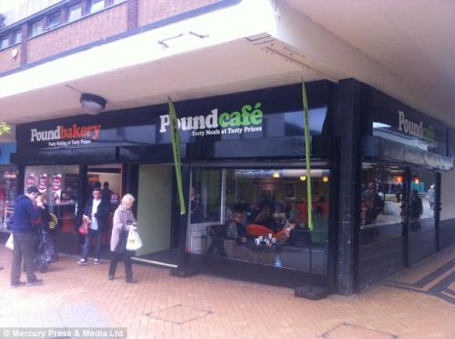 £1 breakfasts at poundcafe