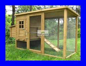 LARGE DELUXE CHICKEN COOP HEN POULTRY ARK HOUSE HUTCH - EBAY (Awesome Products) £124.97