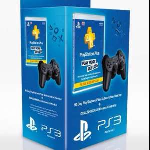 Dualshock 3 (+90 days PS+) £30.15 @ Amazon