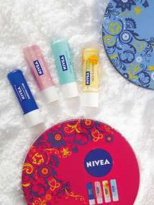 Nivea Lips Set All About Luscious Lips was £5 now £2.50 @ Asda Direct (other gift sets half price too)
