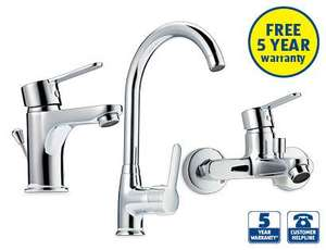 ALDI Mixer Taps with 5 years warranty - only £19.99