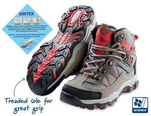Fantastic Deal : Kids Hiker Boots Down to £4.99 from £9.99 @ Aldi