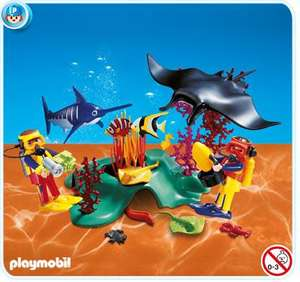 Playmobil.co.uk Divers in tropical reef (set 4488) £10 (£12+ cheaper than found elsewhere) + £2.95 p&p (free over £30) -but more delas too! Login required