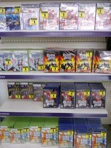 All sorts of console games £1 @ Goodwins Bridlington