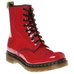 Classic Dr Martens 1460 Red Patent Boots £59 @ Sole Trader