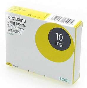 LORATADINE 30 TABS ONE A DAY NON DROWSEY ALLERGY RELIEF - BRAND SUBSTITUTE [CLARITYN] - 30 TABS  AT AMAZON UK sold by Pharmacy Place.  £1.41 DELIVERED PLUS 7% CB QUIDCO