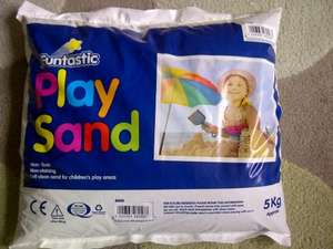 5kg Childrens Play Sand £1 instore at Poundland