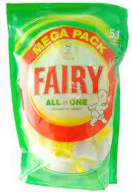 Fairy all in one dishwasher tablets £3.25 @ Sainsburys