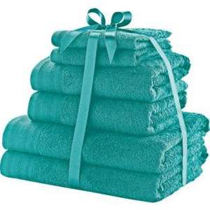 ColourMatch Ribboned Towel Bale (Various Colours 6pk) Reduced To £6.66 R&C @ Argos