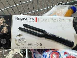 Remington pearl pro styler double barrel tong £5.50 at Tesco!