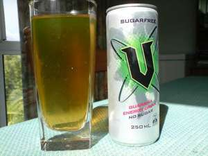 V Energy Drink (Sugar Free) 250ml Can - 19p @ Home Bargains