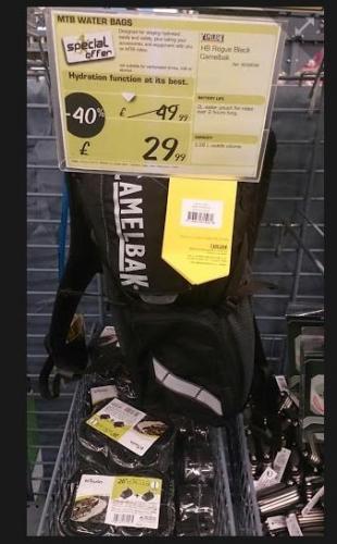 Camelbak Rouge only £29.99 instore @ Decathlon