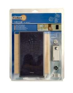 Friedland Decor Minuet 200m Wirefree Door Chime Kit - £4.99 + £2.85 delivery @ Concord Extra