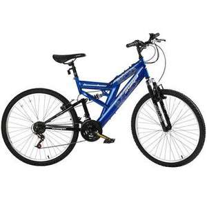 "Avigo 26"" Mens Baseline Full Suspension use code :BIKES20 £79.99 @ Toys R Us"