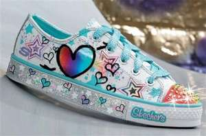 Sketchers' Twinkle Toes Shoes From £12.99-£24.99 At 24Studio (Includes Light-Up Options), Infant & Junior Sizes
