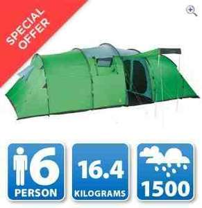 Freedom Trail Eskdale 6 - 6 Berth Family Tent - £74.99 (RRP £200) @ Go Outdoors free delivery or click & collect