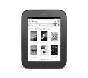 NOOK Simple Touch eReader - £29 @ Currys