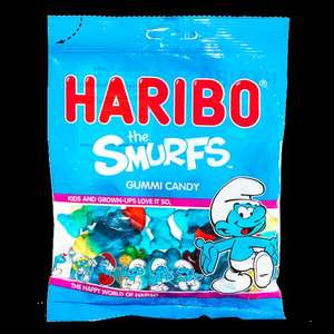 The Smurfs Haribo (Limited Edition 215g) £1.00 @ Tesco