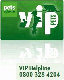 Pets at home VIP club for free welcome pack, samples and vouchers, plus charity support!