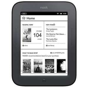 Nook Simple Touch Back in Stock at John Lewis £29.00 with 2yr guarantee .. Don't shoot me I'm only the messenger :>)