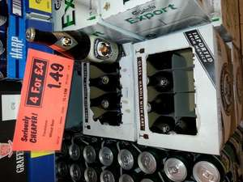 Franziskaner German Wheat beer 4 for £4 @ Lidl
