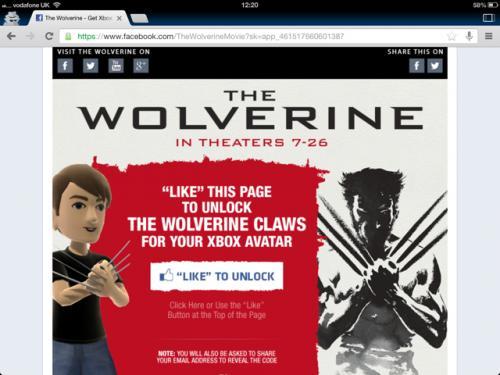 Xbox Avatar - Free Wolverine Claws