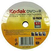 Kodak DVD+R 16x 50 pack spindle £5 @Tesco