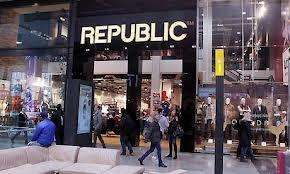 Closing down sale at republic manchester and Trafford
