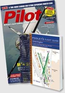 'Pilot' magazine subscription £34.99 + FREE Pooleys air plates 2013, worth £26.99 @ Subscriptionsave
