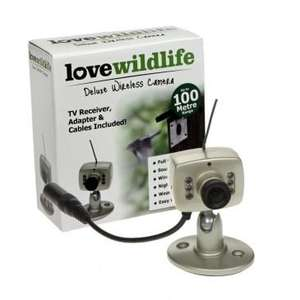 Birdco - Love Wildlife Deluxe Wireless Camera with Receiver Was £89.99 NOW £39.99